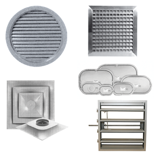 Commercial Grilles, Registers and Diffusers Image