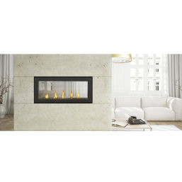 Continental CL38N Linear fireplace
