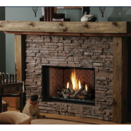 Kingsman Zero Clearance DV Gas Fireplace HBZDV3624-284224-28