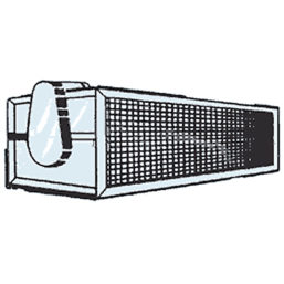 Miniveil EWD Electric air curtain