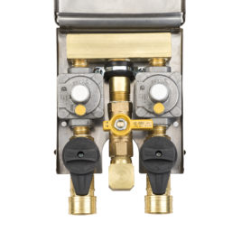 Western 2 PSI DBL SS Gas Outlet - L90